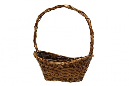 HALF WILLOW WALNUT BASKET