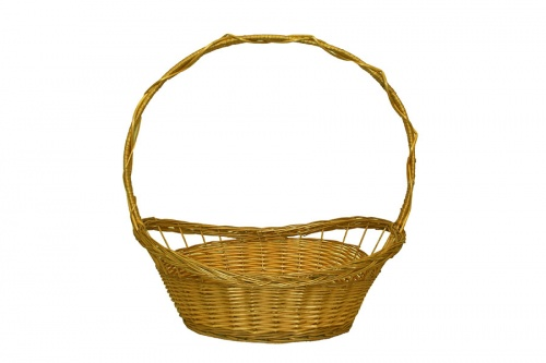 FULL WILLOW PLAIT HONEY BASKET