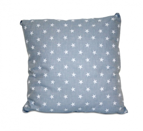 STARS LIGHT BLUE CUSHION