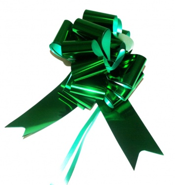BRIGHT GREEN PULL BOW